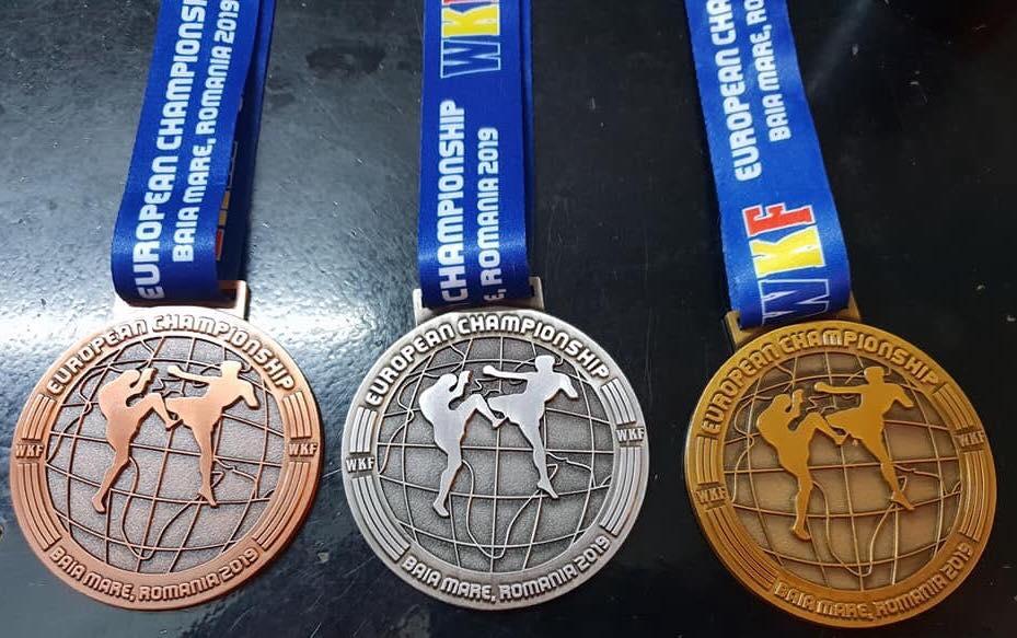 2019 EM Medaillen