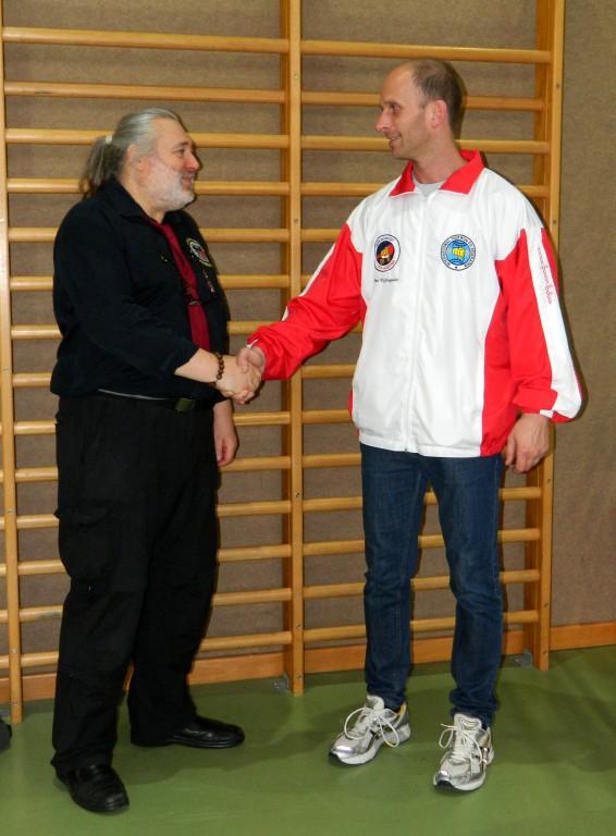 WKF AUSTRIA Präsident Gerald DITTRICH und ITF AUSTRIA Präsident Elmar KICKINGEREDER